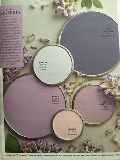 best bedrooms colors, best bathrooms colors, cozy colors bedroom, best bedroom paint, best master bedroom color bedroom wall colors Good Information : Best Bedroom Colors Psychology Interior Paint Colors, Paint Colors For Home, Purple Paint Colors, Nursery Paint Colors, Interior Painting, Purple Hues, Color Palette For Home, Kitchen Color Palettes, Colour Palettes