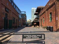 Distillery Historic District, Toronto, Ontario, Canada