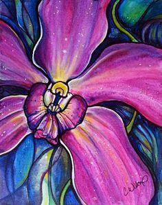 Night Orchid – Colleen Wilcox Art
