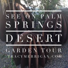 #PalmSprings Desert Garden Tour Today from noon to 4 pm Link for details at tracymerrigan.com #mms Made Me Smile