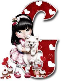Oh my Alfabetos!: Alfabeto Tilibra Jolie cargando a un perrito.