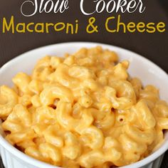 Crock-Pot Creamy Macaroni and Cheese