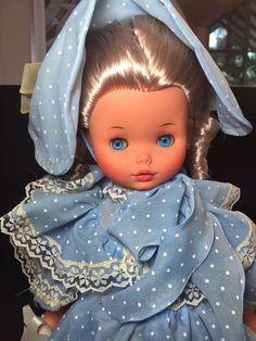 "Vintage 17"" Furga doll loose in original box, gorgeous condition"