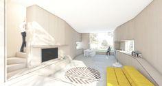 OPEN HOUSE | Prefab wood | Interior | Rendering | Atelier van Wengerden