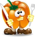 Vettoriale: Peperone Cartoon-Pepper-Vector