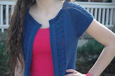 Wispy Willow Cardigan by Cheryl Beckerich - Elegant knit cardigan! Try it in HiKoo CoBaSi!