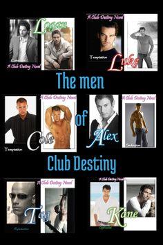 Club Destiny Series By: Nicole Edwards