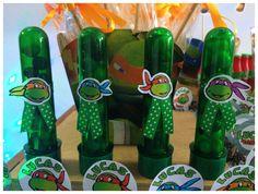 decoração de festa tartarugas ninjas - Pesquisa Google