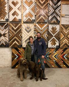 Wood mosaic art to warm any room. Handcrafted by Anna and Nathaneal Bailey in Duluth, Minnesota. Wood Mosaic, Mosaic Wall Art, Mosaic Diy, Wooden Wall Art, Wood Wall, Barn Quilt Designs, Duluth Minnesota, Fireplace Cover, Reclaimed Wood Art