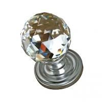 Cut Shape pure Swarovski Crystal Mortice Door Knob with concealed fix screws. Architectural range, designer style crystal mortice door knob made by solid brass and crystal. Top quality door knob by Frelan Hardware. Suitable for Interior / Exterior and Bathroom doors.   Knob Diameter: 50mm (J2000/50) Knob Knob Diameter: 60mm (J2000/60) Projection: 100mm Rose Diameter: 64mm Compatible Door Locks and Latches are available in Door Locks Section. Status: In Stock, Starting Price: £113.99 inc. VAT