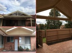 Gable roof for customer in Rowville retirement village.