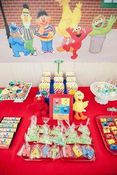 Sesame Street Birthday Party Ideas | Photo 1 of 67 | Catch My Party