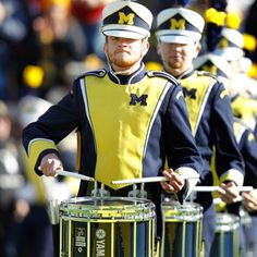 10 Mind-Blowing College Marching Band Cover Songs -- Beyonce, Daft Punk, Skrillex and Michigan Athletics, Michigan Wolverines Football, Alabama Football, American Football, College Football, Marching Band Shows, Marching Band Humor, Jackson State University, University Of Michigan