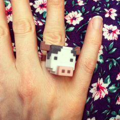 Cow Ring ! #leblox #pixelart #3Dprinting