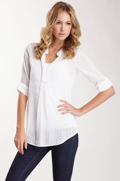Love white shirts