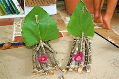 raw twig boats