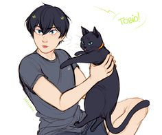 as long as i'm here, you will stay cute Haikyuu Kageyama, Manga Haikyuu, Haikyuu Funny, Haikyuu Fanart, Hinata, Me Anime, Manga Anime, Anime Art, Haikyuu Volleyball