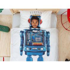 Pościel Snurk Robot 140x200 w Decoarty.pl