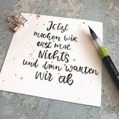 funny sayings always go - hand lettering from yellow checkered .- lustige Sprüche gehen immer – Handlettering von Gelbkariert – wallpape… funny sayings always go – hand lettering from yellow checkered – wallpaper - Brush Lettering, Hand Lettering, Rainbow Clipart, German Quotes, Baby Clip Art, Calligraphy Quotes, Damier, Happy Saturday, Wise Words