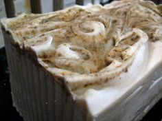 Peppermint Rosemary soap with green clay