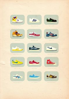 """sneakerfreak"" by neal mccullough. found via pin by @marcypenner."
