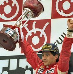 Piloto Ayrton Senna, McLaren Ford Cosworth, Japón 1993