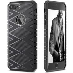 Amazon.com: iSPECLE iPhone 7 Plus TPU Case Carbon Fiber Design on Case Surface iPhone 7 Plus Bumper Case Soft Protective for Screen and Camera Anti-Slip Grip Case for Apple iPhone 7 Plus White: Cell Phones & Accessories