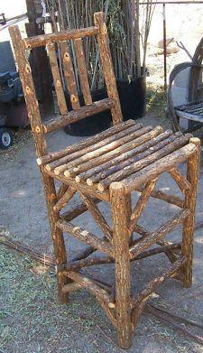 Rustic & Primitive Bar Stools | eBay