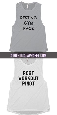 Funny & motivational workout tanks, tees, tops, and sweatshirts for everyone who loves to rep their attitude!
