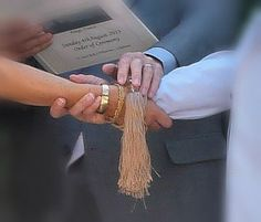 This Tying the Knot ceremony comes from an ancient english Tradition and can be added to your Wedding ceremony. weddingswordsandwishes.com Your Wedding Celebrant in the south of France