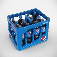 Pepsi Crate prospettica