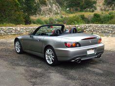 Gray Honda S2000 CR