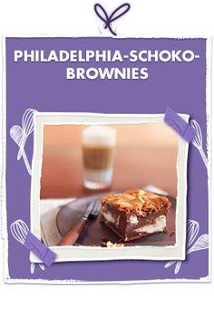 Philadelphia Schoko-Brownies