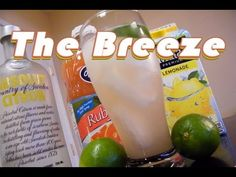 This variation on the Sea Breeze is a citrus flavored summer drink made with lemonade, citrus vodka, lime juice, and grapefruit juice. They call me The Breeze...