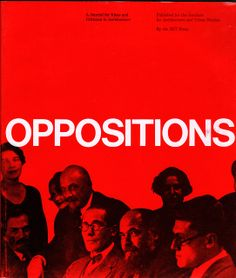 Oppositions | by Massimo Vignelli