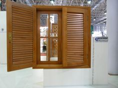 Wooden Window Design, Window Grill Design, Wooden Shutters, Wooden Windows, Bamboo House, Home Look, Decoration, My Dream Home, New Homes