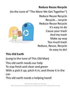 earth day preschool lesson plans a on recycling lesson plan for kindergarten through 94248
