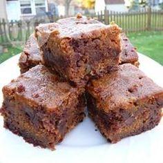 Brownies de chocolate com abóbora @ allrecipes.com.br
