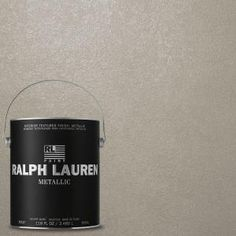 Ralph Lauren 1-gal. Mica Silver Metallic Specialty Finish Interior Paint-ME107 at The Home Depot