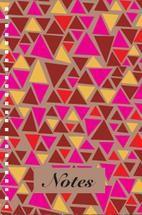TRIANGLE NOTEBOOK by Milena Martinez