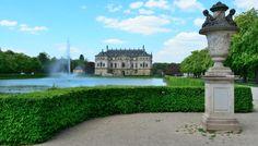 Palaisteich im Grossen Gareten - Dresden entdecken mit Laufschuhen