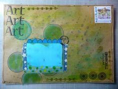 Art Journaling en Mixed Media :: Onderwerp bekijken - Art enveloppen voor sjabloon