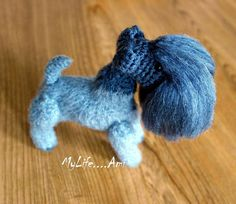 MyLife....Ami Kerry Blue Terrier by mylifeami on Etsy