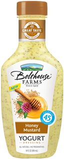 Bolthouse Farms Honey Mustard Yogurt Dressing - It's so yummy!