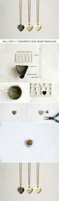 Diy Beautiful Heart Necklace   DIY & Crafts Tutorials