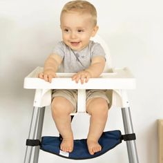 Footsi® - Adjustable Highchair Footrest - Limited Edition Prints - 6 Options Antilop High Chair, Fine Motor Skills Development, Footrest, Wash Bags, Limited Edition Prints, Terrazzo, Memory Foam, Ikea, Range