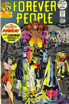 52 big pages include covers! Only DC gives you that in the 70s because Marvel had colder feet than Iceman! NEW! Billion-Dollar Bates goes psycho. OLD! Can the Sandman put a nightmare on 47th Street to sleep?
