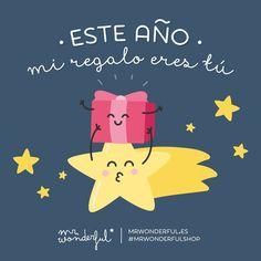 Tú eres mi único deseo. #mrwonderfulshop #FelizSabado  This year my present is you.