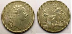 Moneda con la efigie de Luis XVI