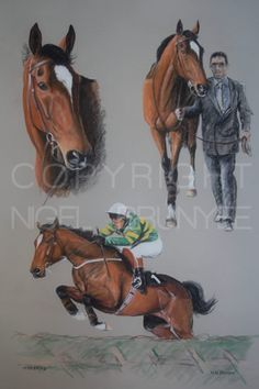 Official website of the equine portrait artist Nigel Brunyee. Portraits of top racehorses of today and yesteryear. Irish Racing, Montreal Botanical Garden, Horse Racing, Race Horses, Grand National, Horse Art, Beautiful Horses, Painting & Drawing, Portrait